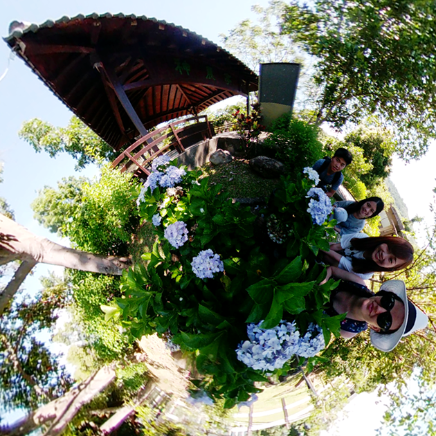 Shoot 360 like a pro - Taiting Yuan Sen Applied Botanical Garden Little Planet