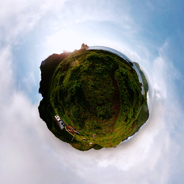 Shoot 360 like a pro - Orchid island, Taiwan