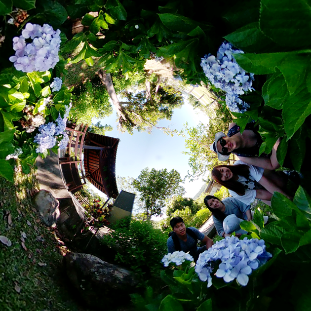 Shoot 360 like a pro - Taiting Yuan Sen Applied Botanical Garden