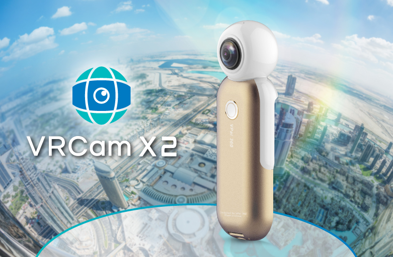VRCam X2 from Taiji Vision Enables Immersive 360-Degree Photography Experience for Apple® iPhone® Users