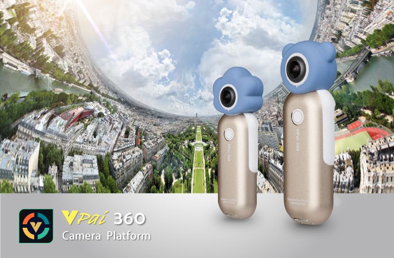 VPai Slide 360 Video Camera Platform on Display @ Hong Kong Electronics Expo